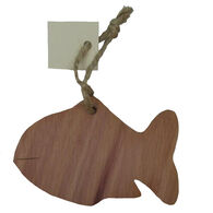 Chichester Fish Cedar Silhouette Ornament