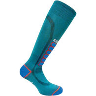 Eurosock Men's Silver Ski Light OTC Sock
