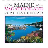 Maine Scene Maine Vacationland 2021 Wall Calendar
