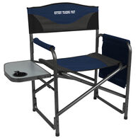 Portal Aluminum Director's Chair w/ Side Table & Kittery Trading Post Logo