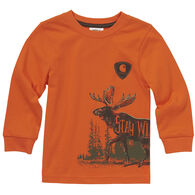 Carhartt Toddler Boy's Stay Wild Long-Sleeve Shirt