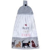 Kay Dee Designs Fur Real Pets Cat Tie Towel