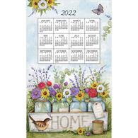 Kay Dee Designs 2022 Home Floral Calendar Towel