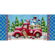 LPG Greetings Winter Truck and Snowman Boxed Christmas Cards
