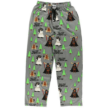 Lazy One Mens May The Forest Be With You Pajama Pant