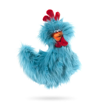 West Paw Design Rowdy Rooster Plush Dog Toy