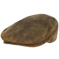 Outback Trading Men's Leather Ascot Hat