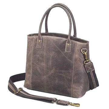 Gun Toten Mamas GTM/CZY-51 Distressed Buffalo Leather Concealed Carry Town Tote