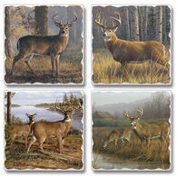 Ridge Top Kountry Krystal Legends Coasters, 4-Pack