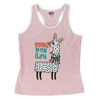 Lazy One Women's No Prob Llama Sleep Tank Top
