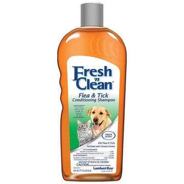 Lambert Kay Fresh n Clean Flea & Tick Dog Conditioning Shampoo - 18 oz.