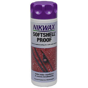 Nikwax Soft Shell Proof Waterproofing Wash - 10 oz.