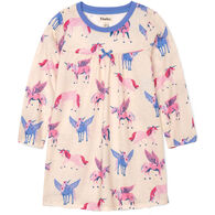 Hatley Girl's Mystical Unicorns Long-Sleeve Nightdress