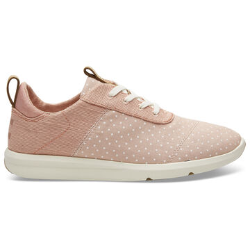 TOMS Womens Printed Dots Heritage Canvas Cabrillo Sneaker