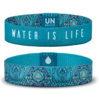 Unselfie Women's Water Kaleidoscope Pattern Wrist Band