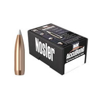 "Nosler AccuBond 338 Cal. 225 Grain .338"" Spitzer Point Rifle Bullet (50)"