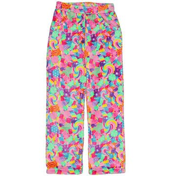 Candy Pink Girls' Candy Fleece Pajama Pant