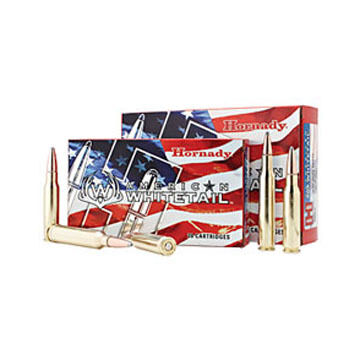 Hornady American Whitetail 300 Winchester Magnum 150 Grain InterLock SP Rifle Ammo (20)