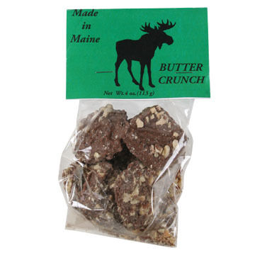 Wilbur's Of Maine Milk Almond Buttercrunch - 4 oz.