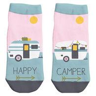 Karma Women's Happy Camper Ankle Sock