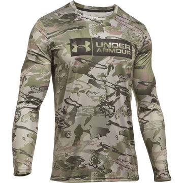 Under Armour Men's UA Camo Tag Long-Sleeve T-Shirt