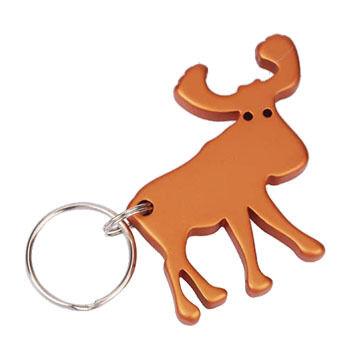 Munkees Moose Keychain Bottle Opener