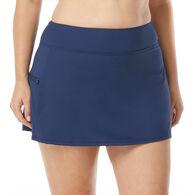 Beach House - Swimwear Anywear Women's Plus Size Emma Pull On Swim Skort