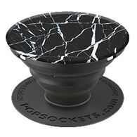 PopSockets Black Marble Mobile Device PopGrip