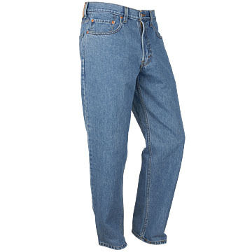 Levis Mens Stonewashed 505 Jean