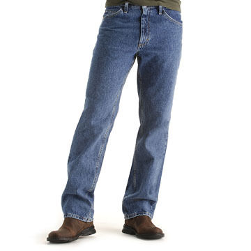 Lee Jeans Mens Big & Tall Regular Fit Straight Leg Stonewashed Jean