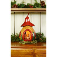 Meadowbrooke Gourds The Spirit Of Christmas Gourd