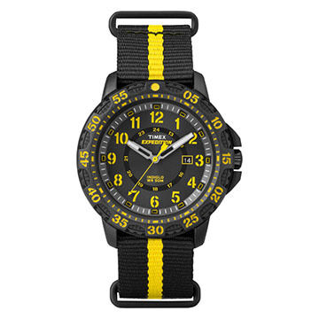 Timex Expedition Gallatin Striped Strap Full-Size Watch
