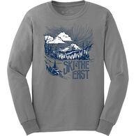 Ski The East Men's Mystic Mountain Long-Sleeve T-Shirt
