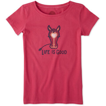 Life is Good Horse Crusher Short-Sleeve T-Shirt