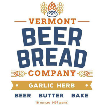 Halladays Harvest Barn Vermont Beer Bread Company Garlic Herb Beer Bread Mix