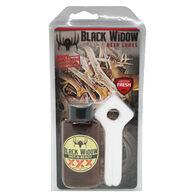 Black Widow Hot-N-Ready XXX Northern Whitetail Lure w/ Widow Maker Scent Wicks