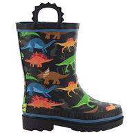 Western Chief Boys' Dino World Rain Boot