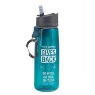 LifeStraw Go GIVES BACK Bottle w/ 2-Stage Filtration