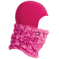 Turtle Fur Boys' & Girls' Curly Fur Shellaclava Double-Layer Neck Balaclava