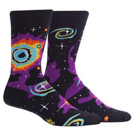 Sock It To Me Men's Helix Nebula Crew Sock