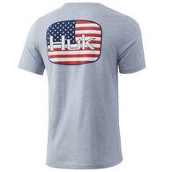Huk Men's KC American Badge Short-Sleeve T-Shirt