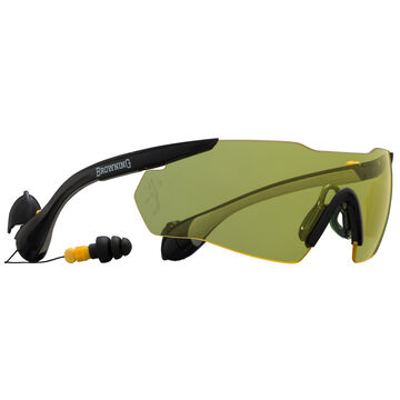 Browning Sound Shield Integrated Hearing Protection Shooting Glasses
