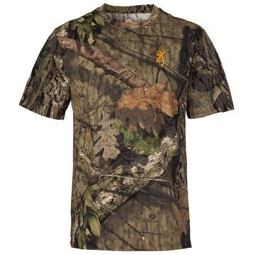 Browning Mens Wasatch-CB Short-Sleeve T-Shirt