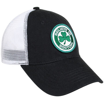 Sullys Mens Celtics Believe In Boston Mesh Back Cap