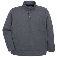 Maxxsel Men's Heavyweight Quarter Collar Fleece Shirt