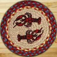 Capitol Earth Lobster Round Swatch Rug