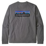 Patagonia Men's P-6 Logo Organic Cotton Crew Sweatshirt