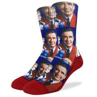 Good Luck Sock Men's Mister Rogers Crew Sock