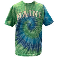 Artforms Women's Maine Arch Tie Dye Short-Sleeve T-Shirt