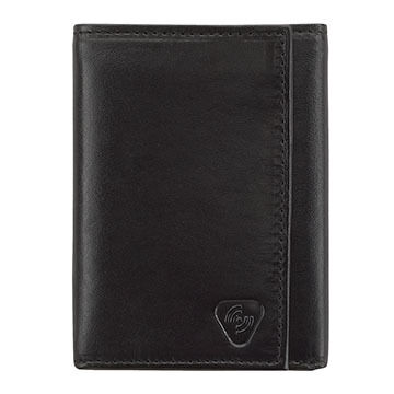 Lewis N. Clark RFID-Blocking Leather Tri-Fold Wallet